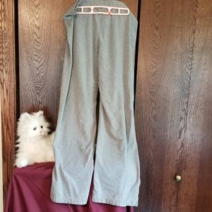 Athletic Works heather white knit pant